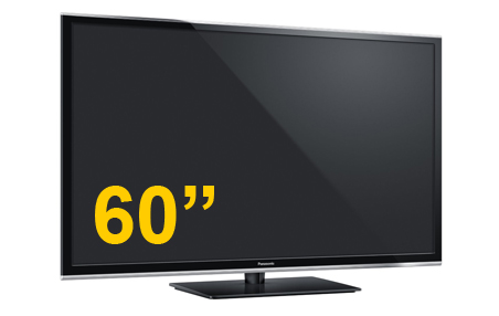 60″ High Definition Plasma Television